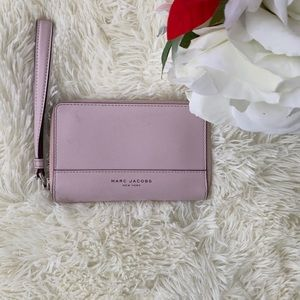 Marc Jacobs Baby Pink Wristlet